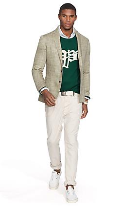Polo ヘリンボーン スポーツコート