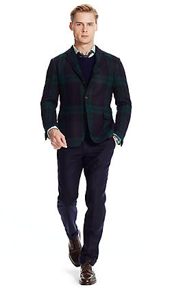 Polo タータン スポーツコート
